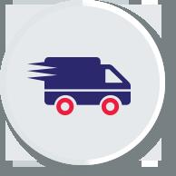Υπηρεσίες ταχυμεταφορών σε εταιρείες