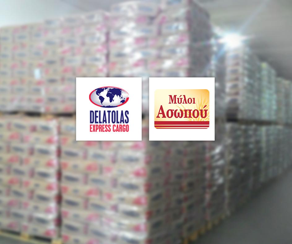 Νέα συνεργασία για τη Delatolas Express Cargo με την Μύλοι Ασώπου ΑΕ